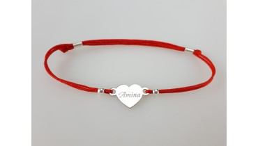 "Bracelet ""Heart is a name"""