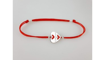 "Bracelet ""Heart Button"""