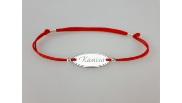 "Bracelet ""Oval Named"""