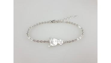 "Bracelet ""Girl Anya"" on a chain"