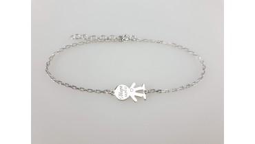 "Bracelet ""Boy Classic"" on the chain"