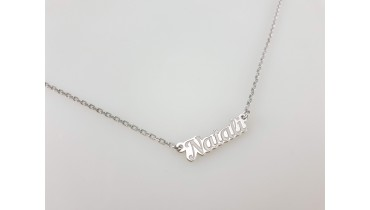"Pendant ""Name"" on the chain"