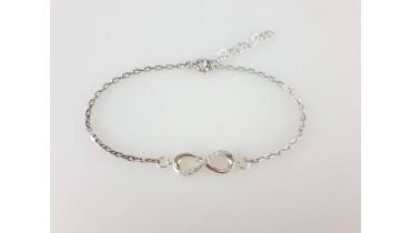 "Bracelet ""Infinity NEW"" on the chain"