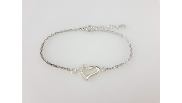 "Bracelet ""Heart NEW"" on the chain"